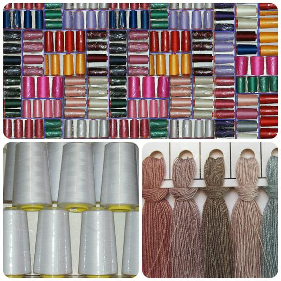 40yd Overlocking Sewing Machine Polyester Thread X40 Reels Nova Enchanting Polyester Thread For Sewing Machine