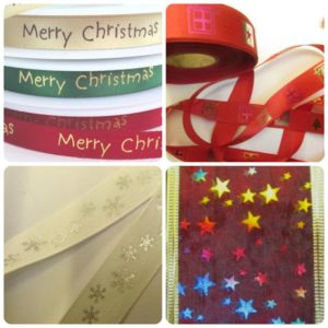 "Craft Ribbons "" (25mm) & 3/4"" wide (19mm) Cotton Super Ribbon Collection"