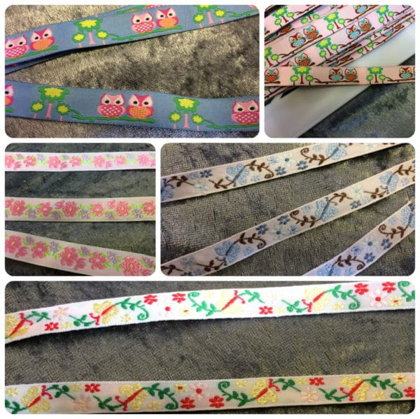 multiple images ribbon