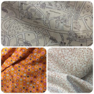 multiple images - patterned fabric