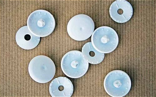 Plastic Self Cover Buttons 11mm, 15mm, 19mm, 22mm, 29mm - 29mm