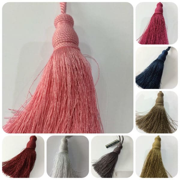 multiple images tassel tie backs