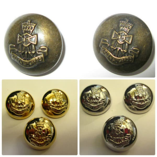 Antique Military Shank Buttons 21 mm Buttons £2.75 for 5 Buttons