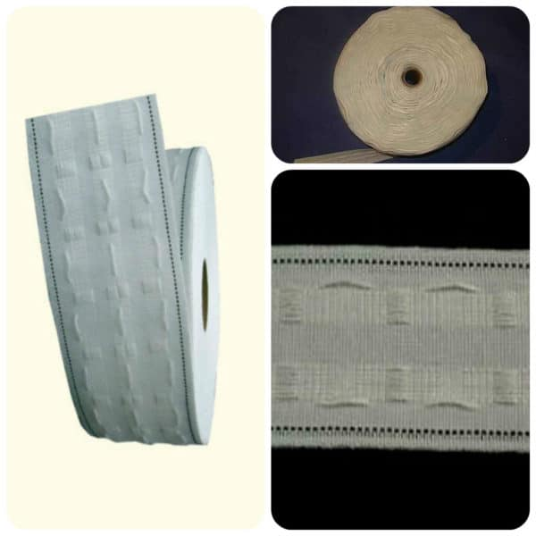 Curtain Heading Tape - 1 inch- 2 inch- 3 inch Wide -Budget Range