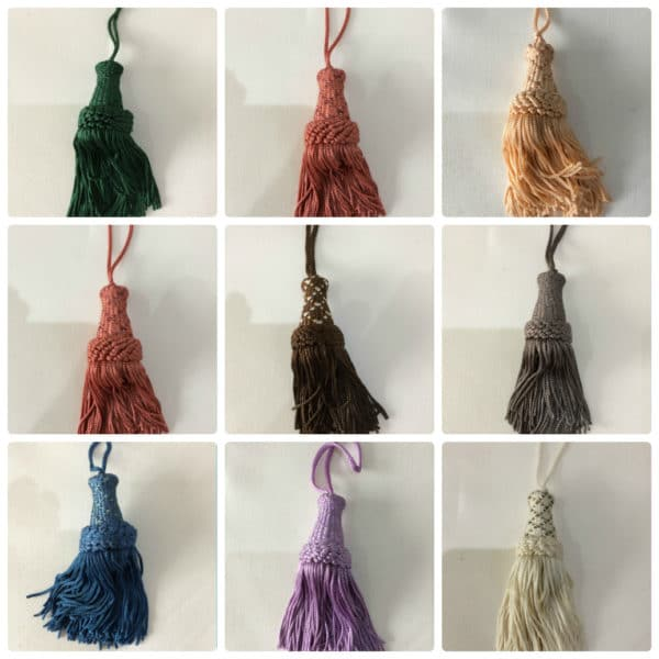 Cushion & Curtains 10cm Key Tassels UK
