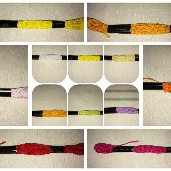 Trebla Embroidery Skeins Of Thread x 24 Skeins Per Box