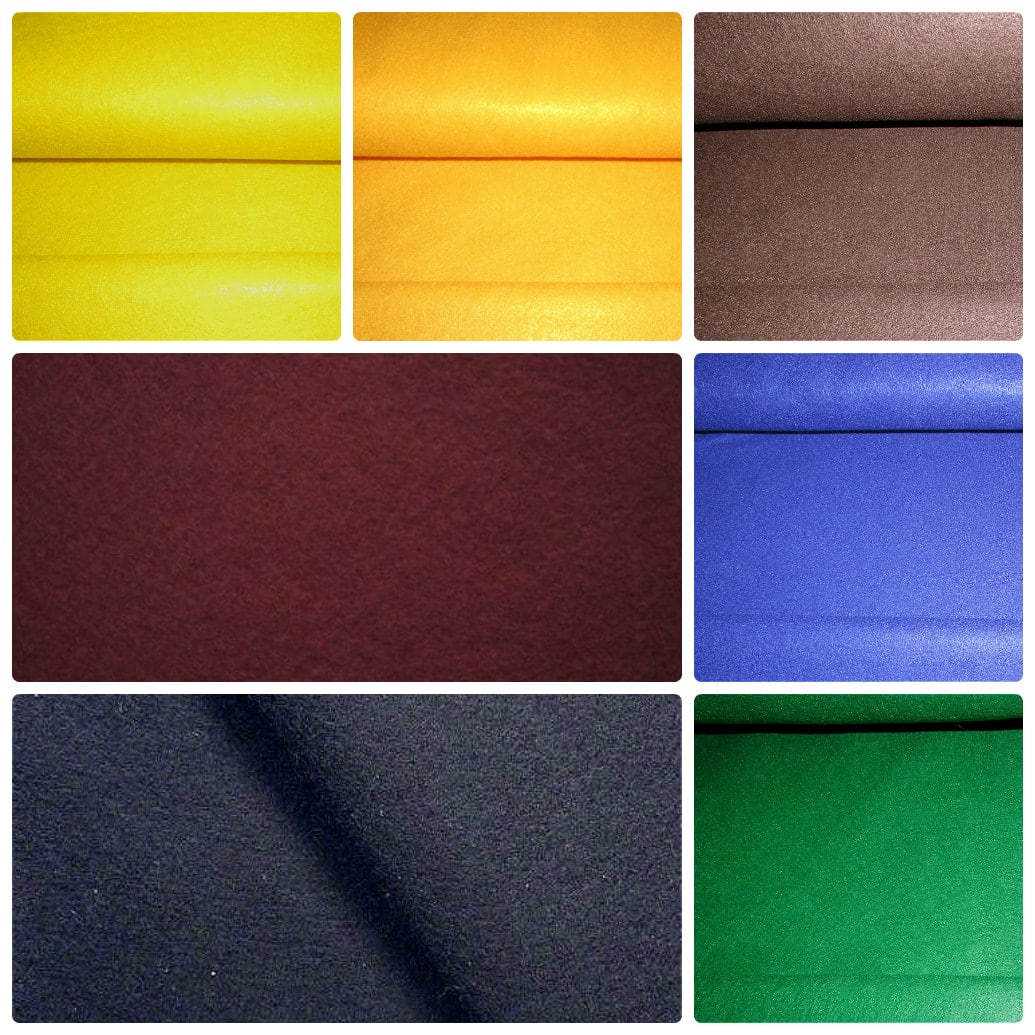 "Craft Felt Fabric 72"" (180 cm) Wide"