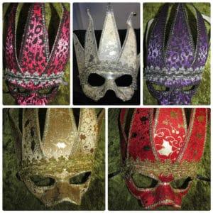 Venetian Masquerade Halloween Eye Masks