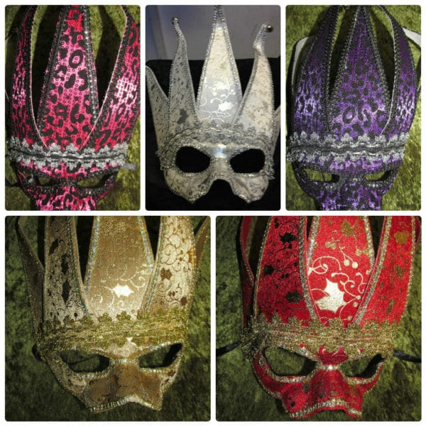 Venetian Masquerade Halloween Eye Masks
