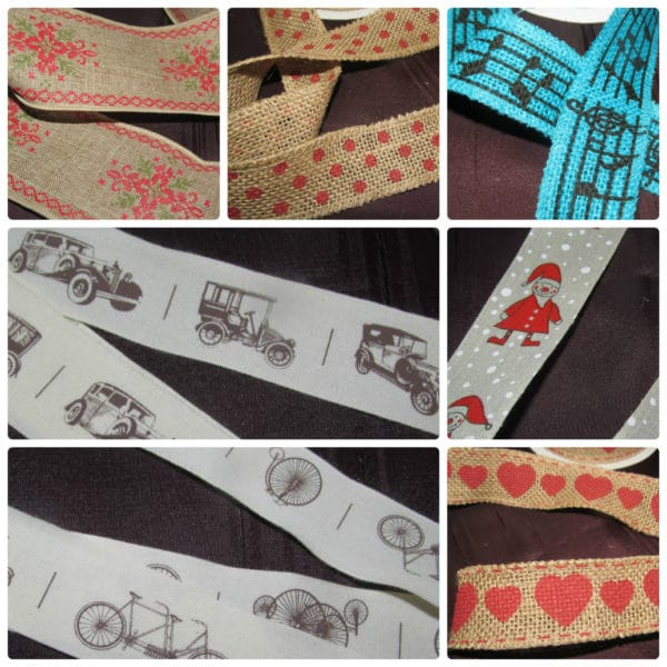 Musical - Vintage Cars - Christmas - Luxury Ribbons