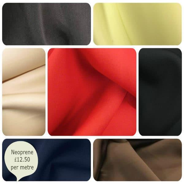 neoprene Scuba Wetsuit Divesuit Fashion Fabric Material - 150cm Wide