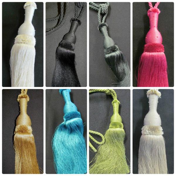Starlight Beaded Tassel Designer Curtain Tie Backs