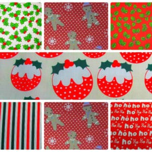 Christmas Polycotton Dress- Craft Fabric