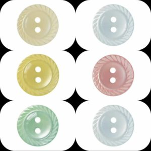 Mill Edge Buttons Ligne 18,22 & 26 Wholesale Packs