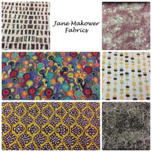 Jane Makower Dress Fabrics - Daisy, Circle, Switch, Cheetah