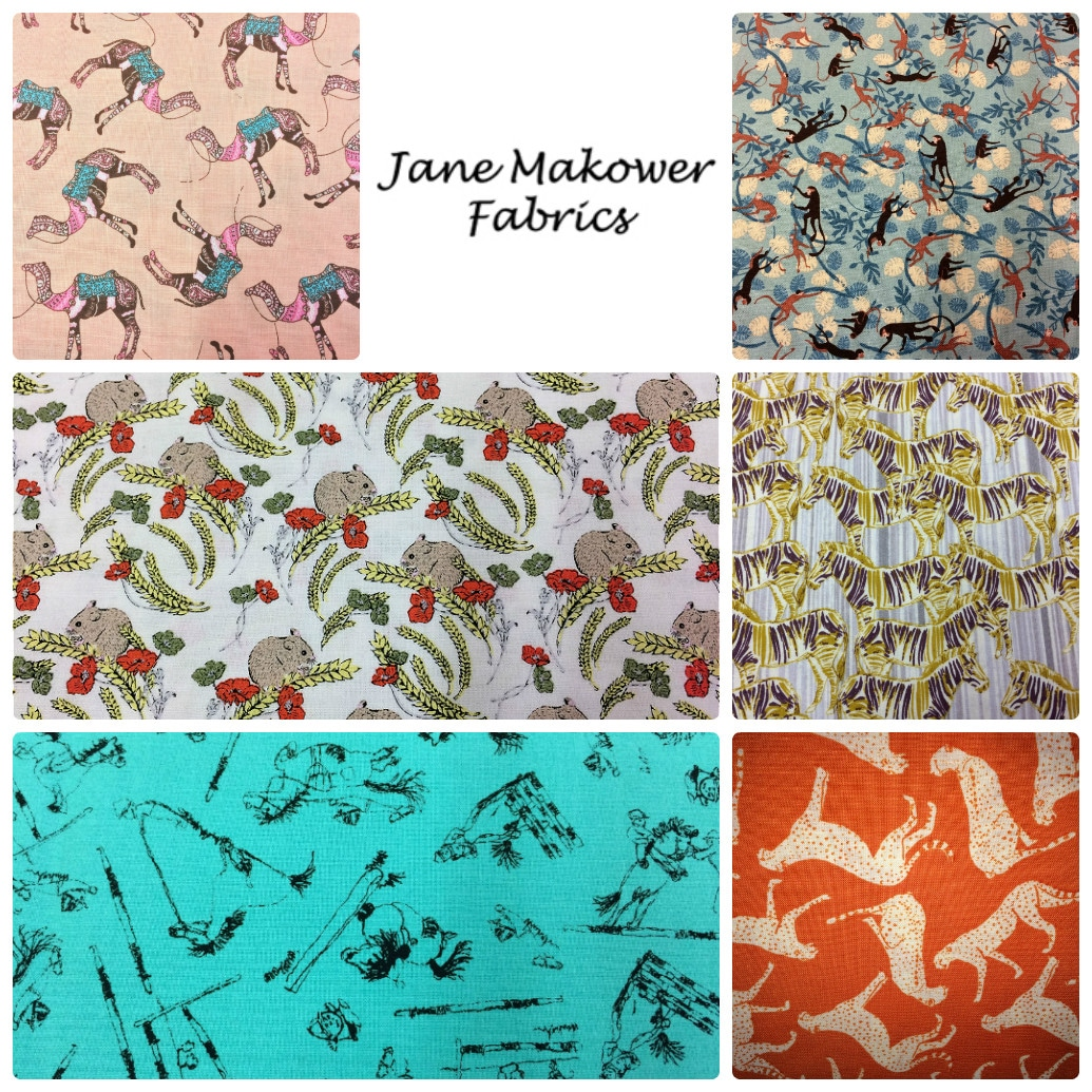 Jane Makower Dress Fabrics - The Wildlife & Out Of Africa Collections