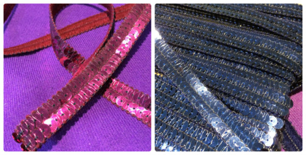 Sequin 12mm Trim By The Metre