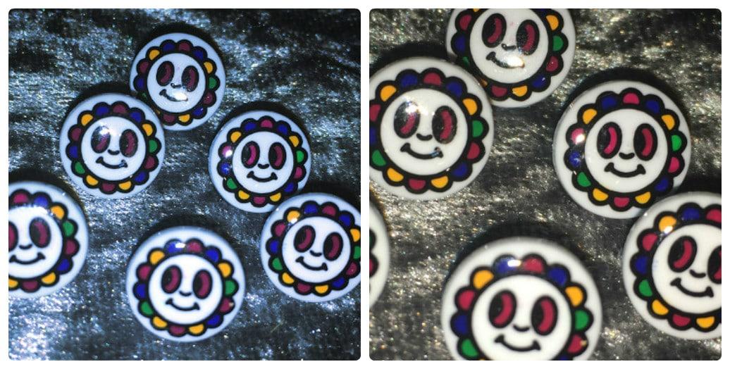 Star Buttons Ligne 18 /& 22 Wholesale Packs