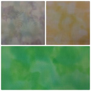 "Dress Fabric - Cotton - 44 "" (110 cm) Tie Dye"