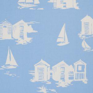 Dress Fabric blue beach