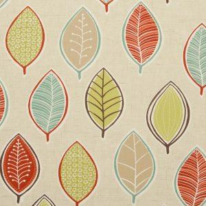 Dress Fabric leaves