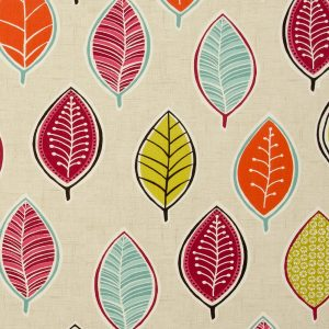 Dress Fabric leaves