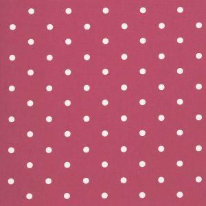 Dress Fabric red dot