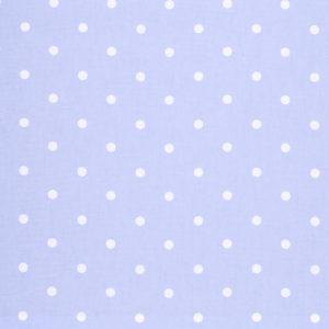 Dress Fabric blue dot