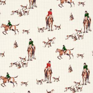 Dress Fabric horses
