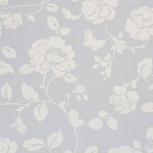 Dress Fabric grey floral