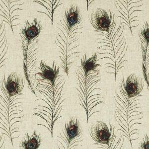 upholstery supplies peacocks linen