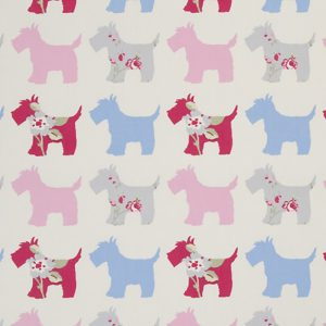 Dress Fabric scotty dogs