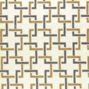Upholstery Supplies gold and black