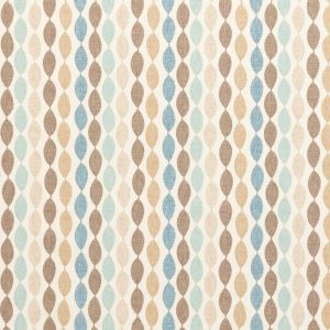 fabric online blue and brown