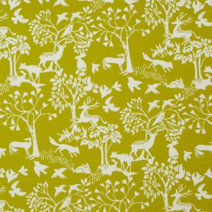 Dress Fabric woodland green