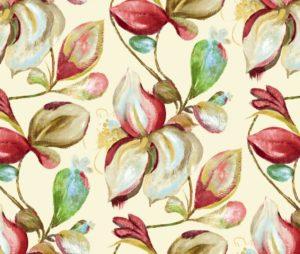 FORELLI CREAM cotton dress fabric