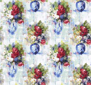 MAYFAIR - RED cotton dress fabric