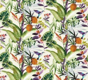 Madagascar Tropical cotton dress fabric