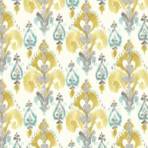 VALENTINE LEMON cotton dress fabric