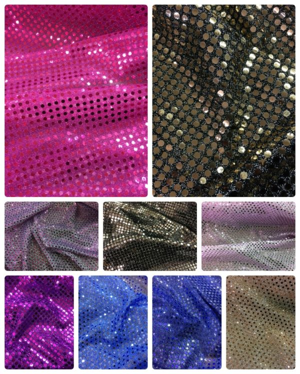 multi colours sequin trim