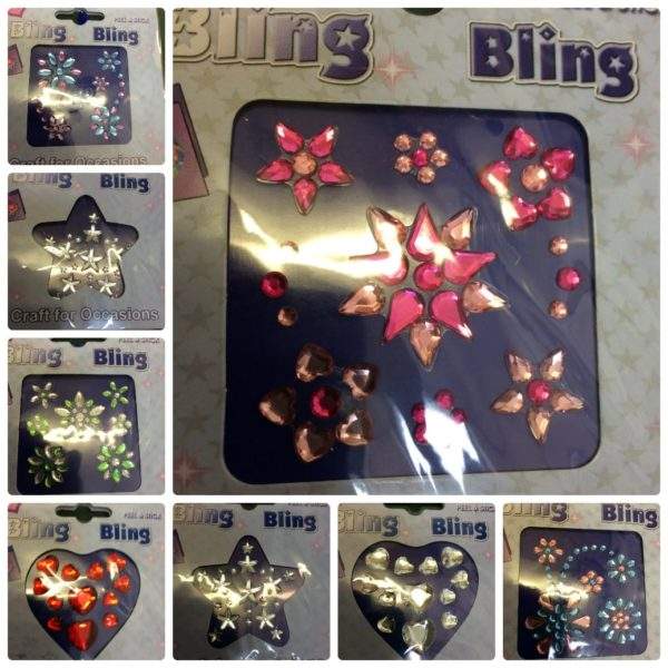 Bling Peel & Stick Diamantes