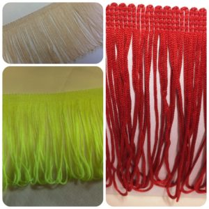 multiple tassels - assorted colours