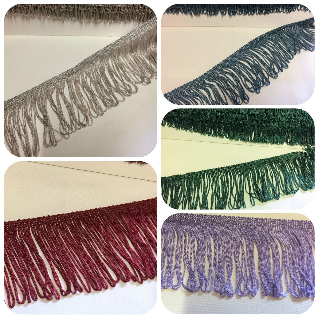tassel fringe group - multiple images