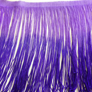 Uploaded ToShaded Purple/ Mauve Fringe Decorative Dress / Furnishing Trimming -13 inch (32 cm)