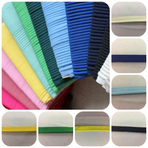 10 mm Dress & Craft Insertion Cord Assorted Colours