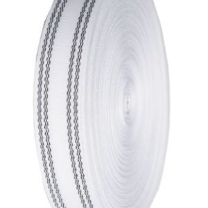 White Petersham Waistbanding 25mm wide 50 Metre Roll