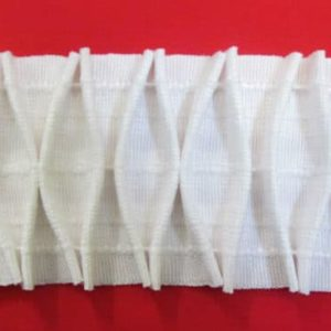 5 Rolls Curtain Fabric Smocking Diamond Header Tape 50 metre Roll