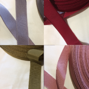 Range of ribbons