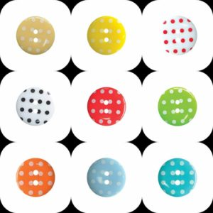 polka dot cover buttons multiple images