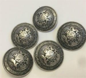 lion crest cover buttons